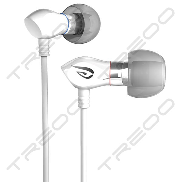 Fischer Audio Gryphon In-Ear Earphone with Mic - White