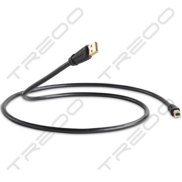 QED Performance Graphite USB-A to USB-B USB Cable