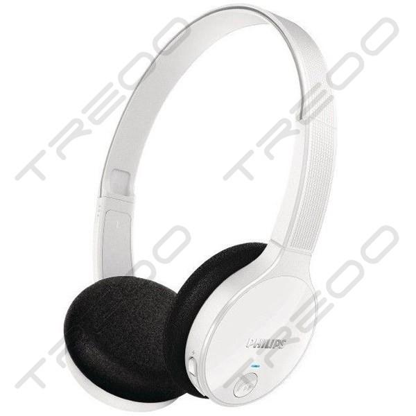 Philips SHB4000 Wireless Bluetooth On-Ear Headphone - White