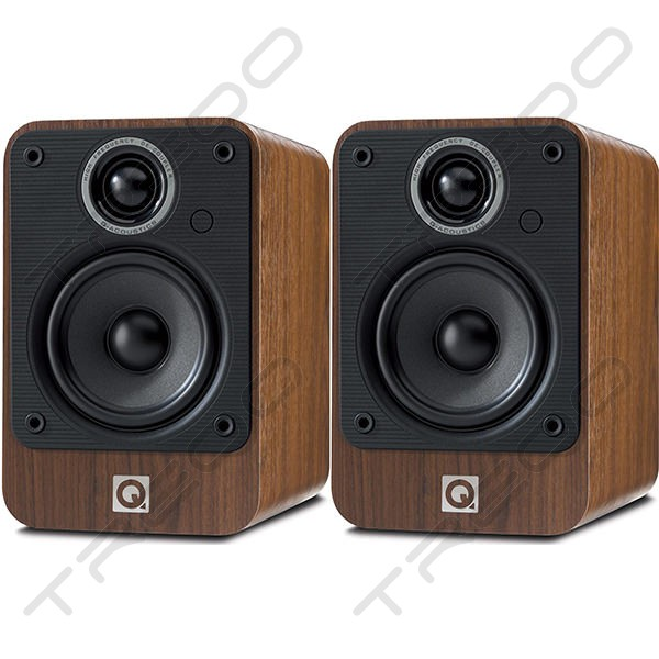 Q Acoustics 2010i Bookshelf 2.0 Speaker System - Walnut