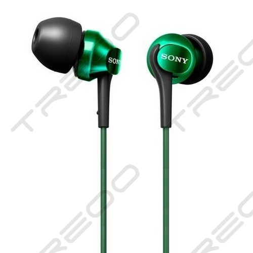 Sony MDR-EX100LP In-Ear Earphone - Green