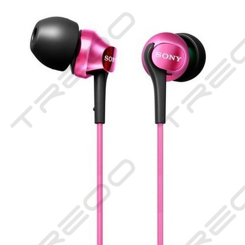 Sony MDR-EX100LP In-Ear Earphone - Pink