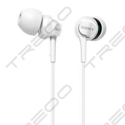Sony MDR-EX100LP In-Ear Earphone - White