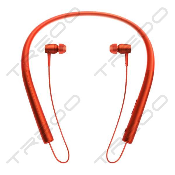Sony MDR-EX750BT Wireless Bluetooth Neckband In-Ear Earphone with Mic - Cinnabar Red