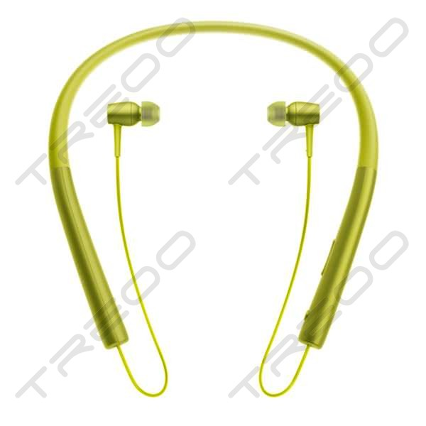 Sony MDR-EX750BT Wireless Bluetooth Neckband In-Ear Earphone with Mic - Lime Yellow