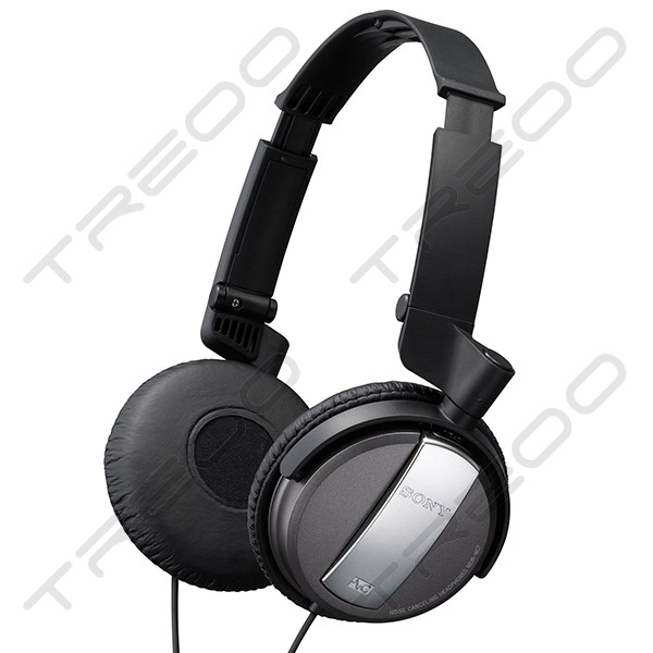 Sony MDR-NC7 Noise-Cancelling On-Ear Headphone - Black