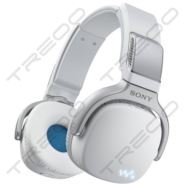 Sony NWZ-WH303 3-in-1 Walkman Speaker On-Ear Headphone - White
