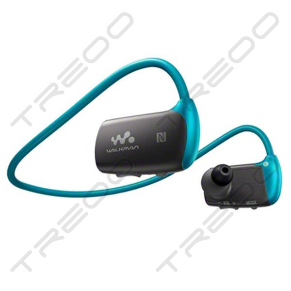 Sony NWZ-WS615 Waterproof Walkman Neckband Wireless Bluetooth In-Ear Earphone - Blue
