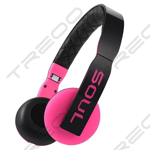 Soul by Ludacris LOOP On-Ear Headphone with Mic - Pink