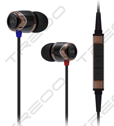 SoundMAGIC E10M In-Ear Earphone with Mic - Gold