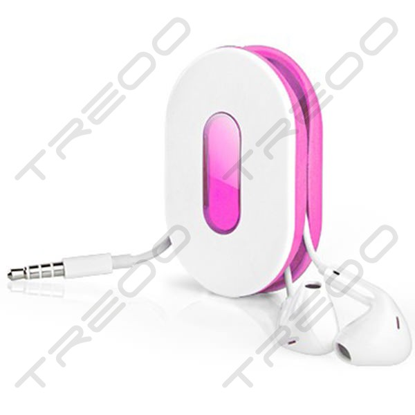 Dotz Wrap ID Earbud wrap - Pink