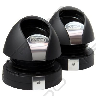 X-mini MAX II Capsule Portable Speaker - Black