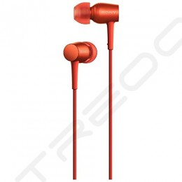 Sony MDR-EX750AP In-Ear Earphone with Mic - Red