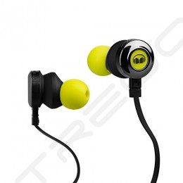 Monster ClarityHD In-Ear Earphone with Mic - Neon Green