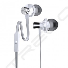 Fischer Audio iCon White In-Ear Earphone with Mic - White