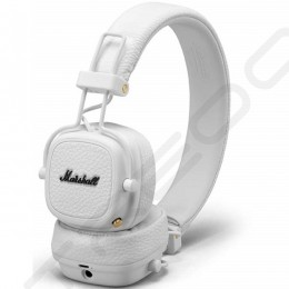Marshall Major III Wireless Bluetooth On-Ear Headphone with Mic - White