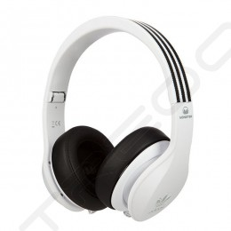 Adidas Original by Monster Over-the-Ear Headphone with Mic - White