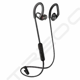 Plantronics Backbeat Fit 350 Wireless Bluetooth On-Ear Earbud with Mic - Black