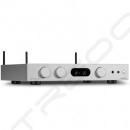 Audiolab 6000A Play Multi-Room Wireless Bluetooth/WiFi/Ethernet Network Streamer & Hi-Fi Integrated Amplifier - Sliver