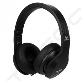 Adidas Original by Monster Over-the-Ear Headphone with Mic - Black