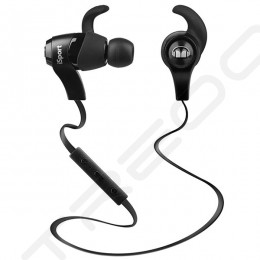 Monster iSport Bluetooth Wireless In-Ear Earphone with Mic - Black
