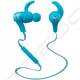 Monster iSport Bluetooth Wireless In-Ear Earphone with Mic - Blue