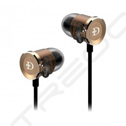 DUNU DN-2000 3-Driver Hybrid In-Ear Earphone - Gold