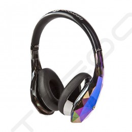 Monster Diamond Tears Edge On-Ear Headphone with Mic - Dark Crystal