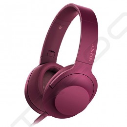 Sony MDR-100AAP Over-the-Ear Headphone with Mic - Pink