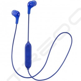JVC HA-FX9BT Wireless Bluetooth In-Ear Earphone with Microphone - Blue