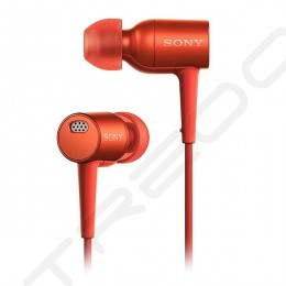 Sony MDR-EX750NA Noise-Cancelling In-Ear Earphone with Mic - Red