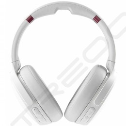 Skullcandy Venue Wireless Bluetooth Noise-Cancelling Over-the-Ear Headphone with Mic - White