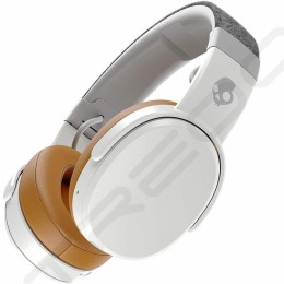 Skullcandy Crusher Wireless Bluetooth Over-the-Ear Headphone with Mic - White