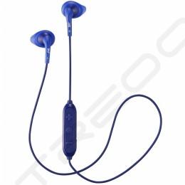 JVC HA-EN10BT Sports Wireless Bluetooth In-Ear Earphone with Microphone - Blue