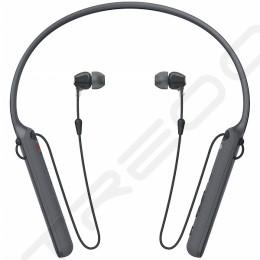 Sony WI-C400 Wireless Bluetooth Neckband In-Ear Earphone with Microphone - Black