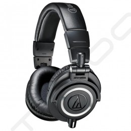 Audio-Technica ATH-M50x Professional Studio Monitor Over-the-Ear Headphone - Black