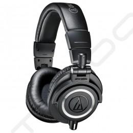 Audio-Technica ATH-M50x Professional Studio Monitor Over-the-Ear Headphone - Black