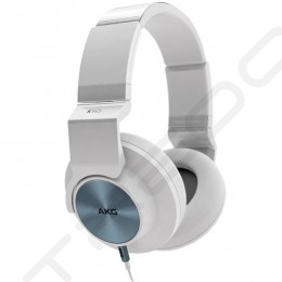 AKG K545 Over-the-Ear Headphone with Mic - White