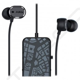 AKG N20NC Noise-Cancelling In-Ear Earphone with Mic