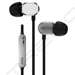 AKG N20U In-Ear Earphone with Mic - Silver