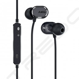 AKG N25 2-Driver In-Ear Earphone with Mic - Black