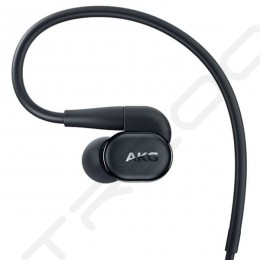 AKG N30 2-Driver Hybrid In-Ear Earphone with Mic - Black