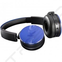 AKG Y50BT Wireless Bluetooth On-Ear Headphone with Mic - Blue