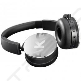 AKG Y50BT Wireless Bluetooth On-Ear Headphone with Mic - Silver