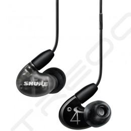 Shure AONIC 4 2-Driver Hybrid In-Ear Earphone with Mic - Black