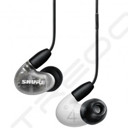 Shure AONIC 4 2-Driver Hybrid In-Ear Earphone with Mic - White
