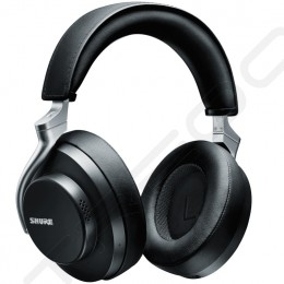 Shure AONIC 50 Wireless Bluetooth Active Noise-Cancelling Over-the-Ear Headphone with Mic - Black