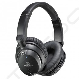 Audio-Technica ATH-ANC9 Noise-Cancelling Over-the-Ear Headphone with Mic