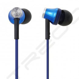 Audio Technica ATH-CK330IS In-Ear Earphone with Mic - Blue