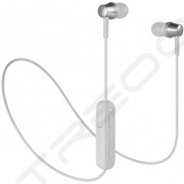 Audio-Technica ATH-CKR300BT Wireless Bluetooth In-Ear Earphone with Mic - Grey